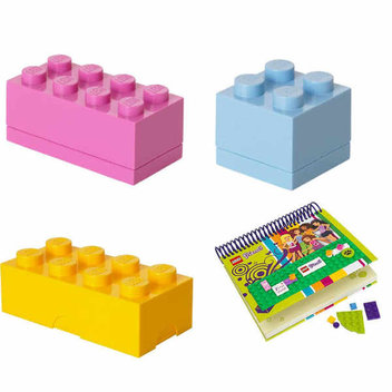 Win Lego goodies