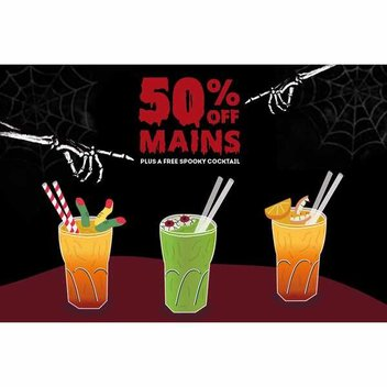 Free Spooky Cocktails from Frankie & Benny's