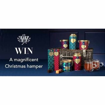 Win a magnificent Whittard of Chelsea Christmas hamper