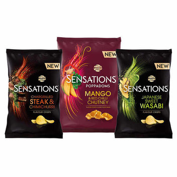 Discover Walkers' new Sensations flavours for free