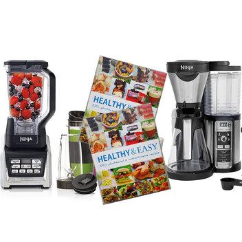 Win a high speed blender, coffee machine & book