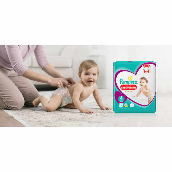 Pick up a free pack of Pampers Nappy Pants