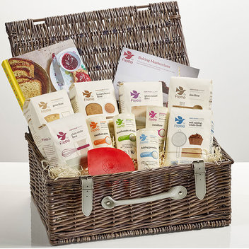 Have a gluten-free Luxury Hamper from FREEE by Doves Farm