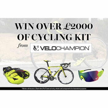 Win over £2000 of cycling kit from Velochampion