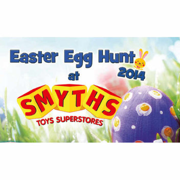 Free Easter Eggs from Smyths Toys