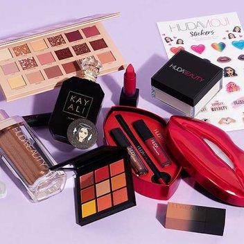 Take home a Huda beauty bundle worth over £350