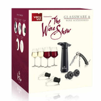 Free Glassware & Wine Accessories gift set
