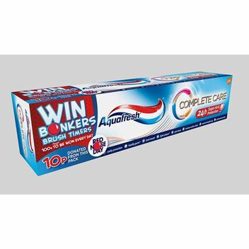 Free Bonkers Brush Timers from Aquafresh