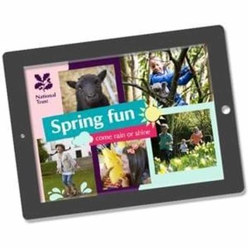 Free National Trust spring fun pack