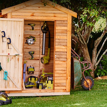 Win a shed full of Ryobi 18V ONE+ power tools