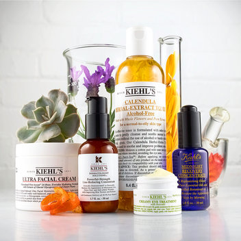 Claim complimentary samples with Kiehl's