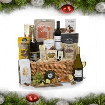 Have a luxury food hamper for Christmas