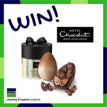 Claim a free White Chocolate & Caramel Easter Egg from Hotel Chocolat