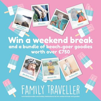 Go on a weekend break with a bundle of beach-goer goodies worth over £750