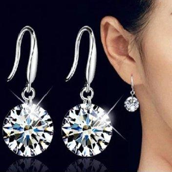 Free Floating Diamonds earrings