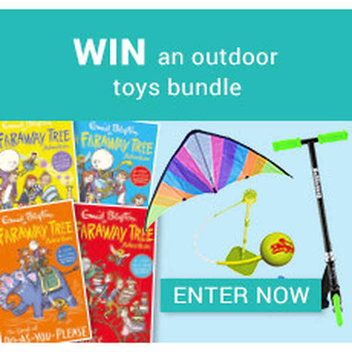 Win an outdoor toys bundle