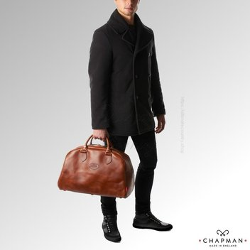 Get a Luxury Leather Reiver 18 Holdall bag