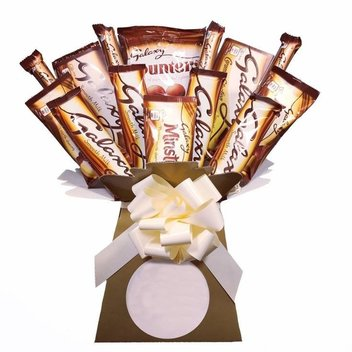 Get a free Galaxy chocolate bouquet