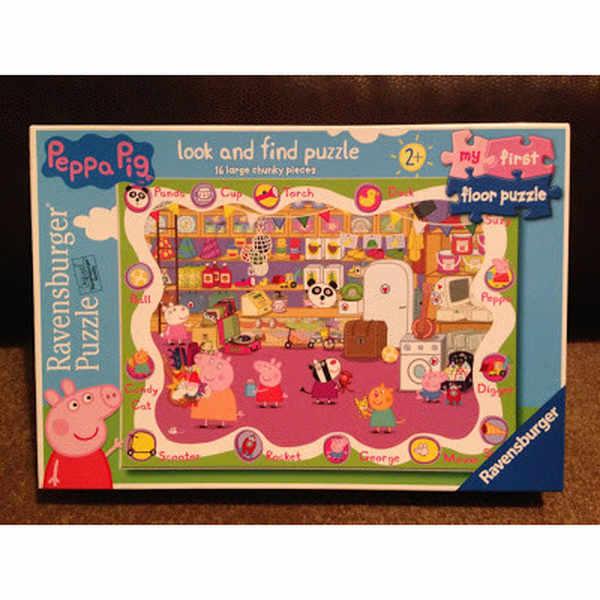Free Peppa Pig puzzles