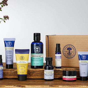 Claim a free Beauty Box from Neal's Yard