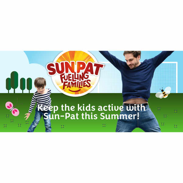 Keep active with a Sun-Pat sports kit