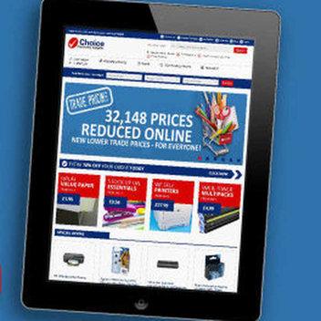 Win an iPad with Choice Stationary Supplies