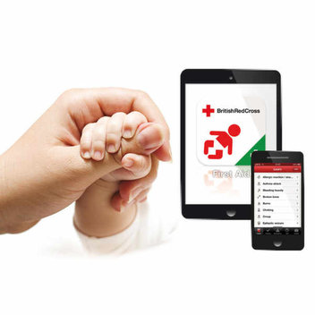 Free Baby and Child First Aid app from the British Red Cross