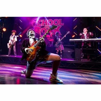 Win £5000 of musical instruments for your school with School of Rock The Musical