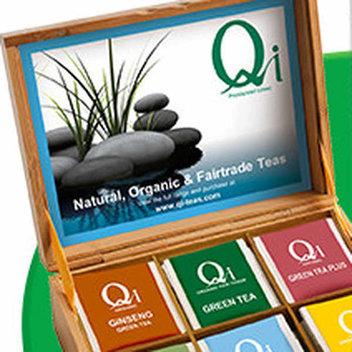 Get a free Qi Teas Presentation Box