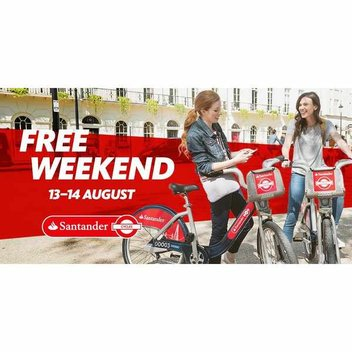 Free Santander Cycles & Spinning Classes
