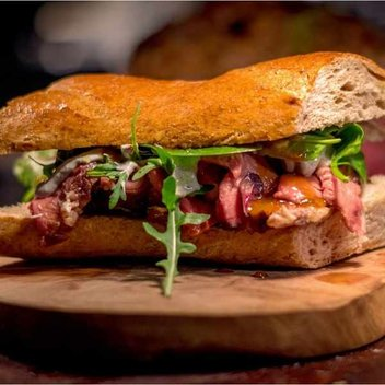 Claim a free Steak Sandwich from Sophie's Kiosk