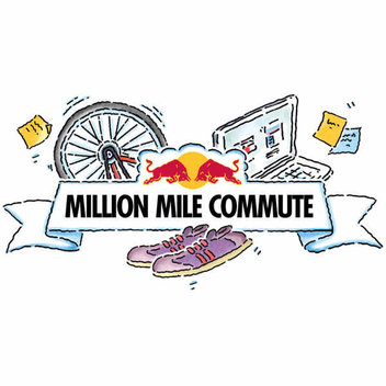 Free Red Bull Drinks Kit with the Red Bull Million Mile Commute