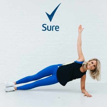 Win the ultimate workout kit with Sure