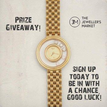 Win a 'Happy Diamonds' ladies' watch