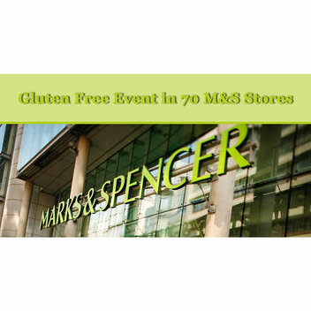Gluten Free Event at 70 Marks and Spencer Stores