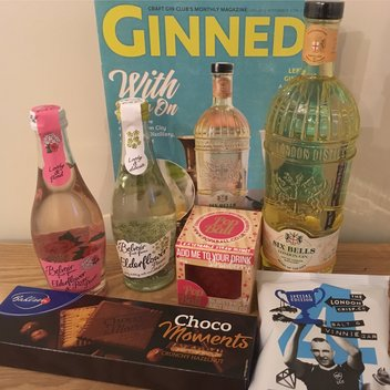 Win a Craft Gin Club X Choco Moments September hamper
