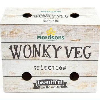 Pick up a free Wonky Veg Pack from Morrisons