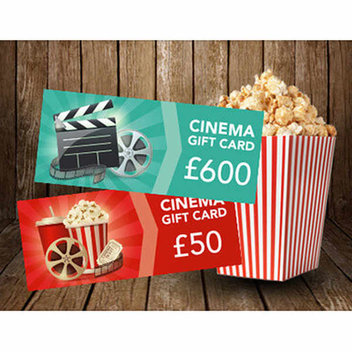 Free cinema gift cards