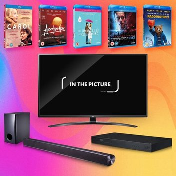Win an LG TV, Blu-ray player & soundbar
