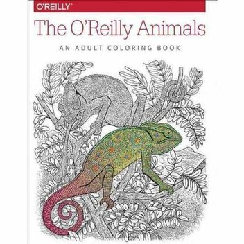 Free O'Reilly Animals Adult Colouring Book