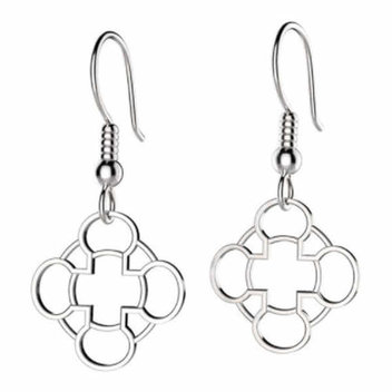 Win a pair of Quatrefoil earrings
