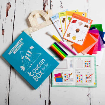 Free Festive Craft Box for Kids