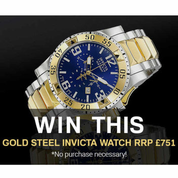 Win a Gold-Steel Invicta Watch RRP £751