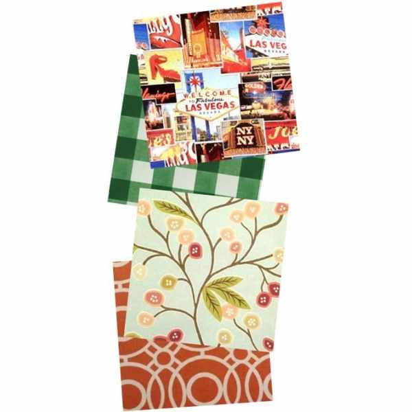 Free JustWipe vinyl tablecloths