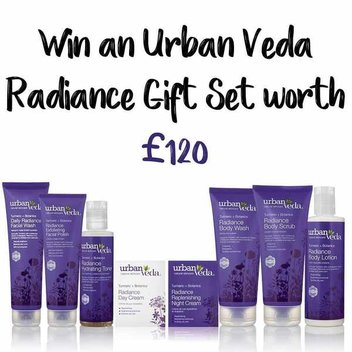 Win an Urban Veda Radiance gift set worth £120
