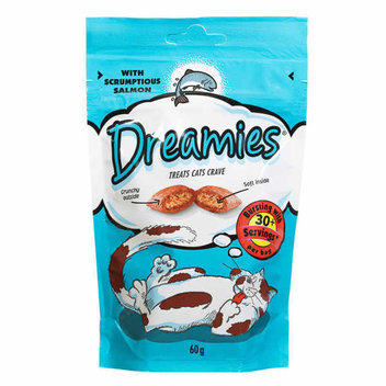 Free Dreamiesfood & toys for your cat