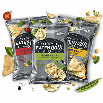 Try the new Off the Eaten Path snacks for free