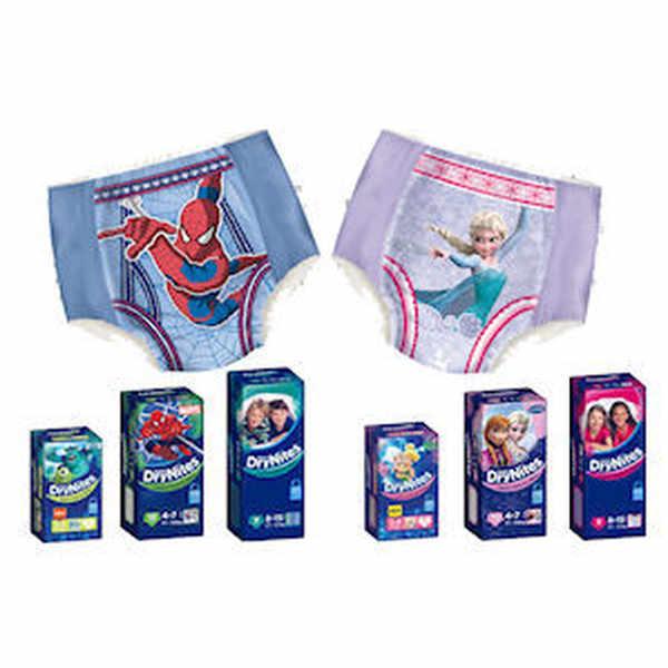 Free sample of DryNites® Pyjama Pants