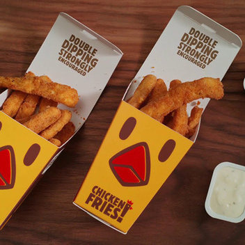 Free Chicken Fries at Burger King