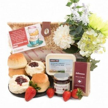 Claim a free Traditional Cream Tea Hamper